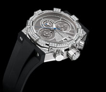 CONCORD - C1 Chronograph high jewelry