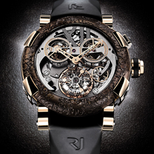 RJ - ROMAIN JEROME ROMAIN JEROME - Titanic-DNA rusted steel Squelette Chronographe Tourbillon
