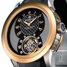 PERRELET - Automatic Tourbillon in Titanium / Rose Gold - Limited Edition of 20 Pieces