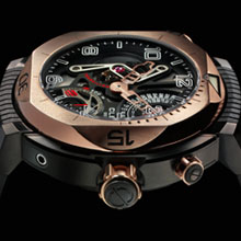 CLERC - Hydroscaph Gold Tourbillon LE