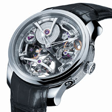 GREUBEL FORSEY - Double Tourbillon Technique