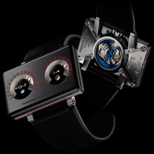 MB & F - Horological Machine No2.2 with Alain Silberstein