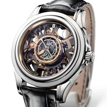 OMEGA The Skeleton Central Tourbillon Co-Axial Platinum Limited Edition