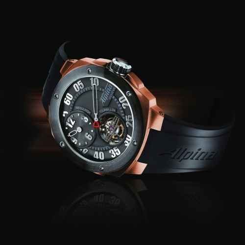 ALPINA Extreme Tourbillon Regulator Manufacture