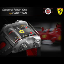The Scuderia Ferrari One by Cabestan
