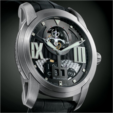 BLANCPAIN L-evolution Tourbillon Large Date Power-reserve Indication on the Oscillating Weight