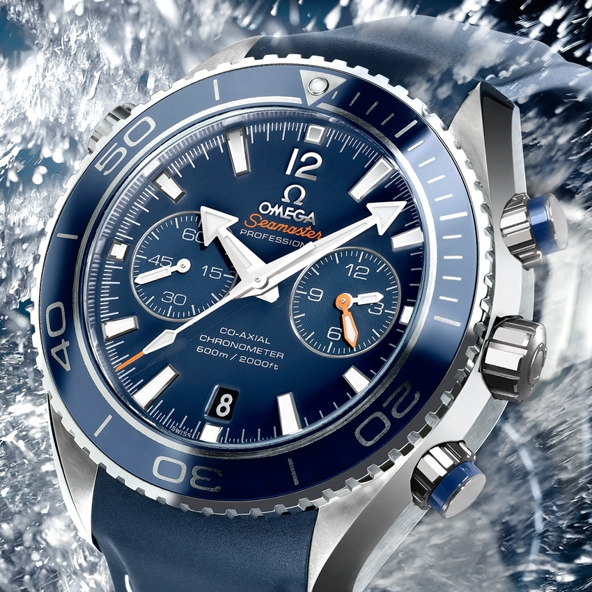 OMEGA The Seamaster Planet Ocean 45.50 mm Titanium Liquidmetal® Chronograph