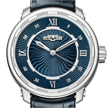 DEWITT Twenty-8-Eight Automatic White Gold & Blue