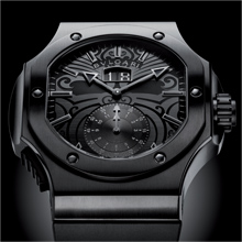 BVLGARI Endurer Chronosprint All Blacks