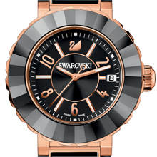 SWAROVSKI The Rose-Gold Octea Sport Watch