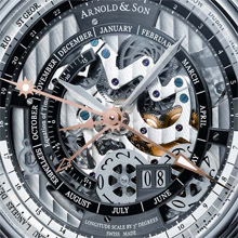 ARNOLD & SON Hornet World Time Skeleton