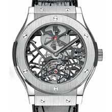 HUBLOT Classic Fusion Skeleton Tourbillon