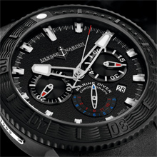 ULYSSE NARDIN Black Sea Chronograph.