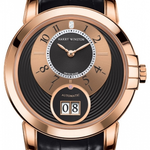 HARRY WINSTON ONLYWATCH Midnight Big Date