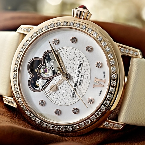 FREDERIQUE CONSTANT ONLYWATCH Double Heart Woman Set