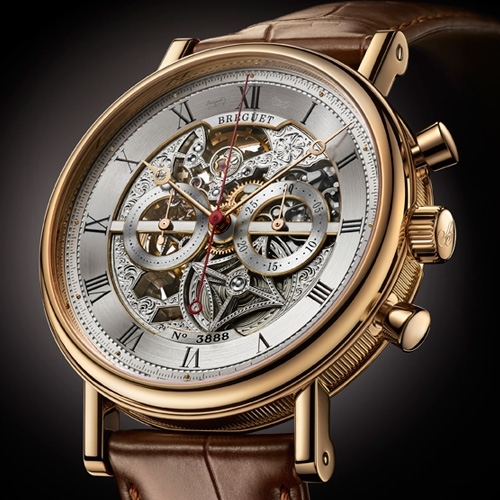 BREGUET ONLYWATCH Classique Chronograph openworked 5284