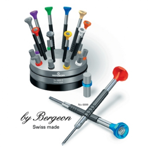 BERGEON Ergonomic Watchmaker's Screwdrivers No 6899
