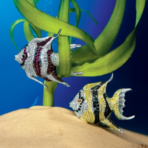 CHOPARD Fish Brooches