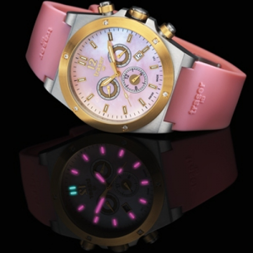 MB-MICROTEC traser® Chronograph Lady Pink