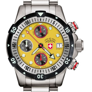 CX SWISS MILITARY WATCH 20'000 FEET