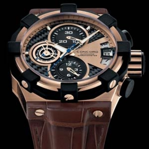 CONCORD C1 Chronograph Rose Gold