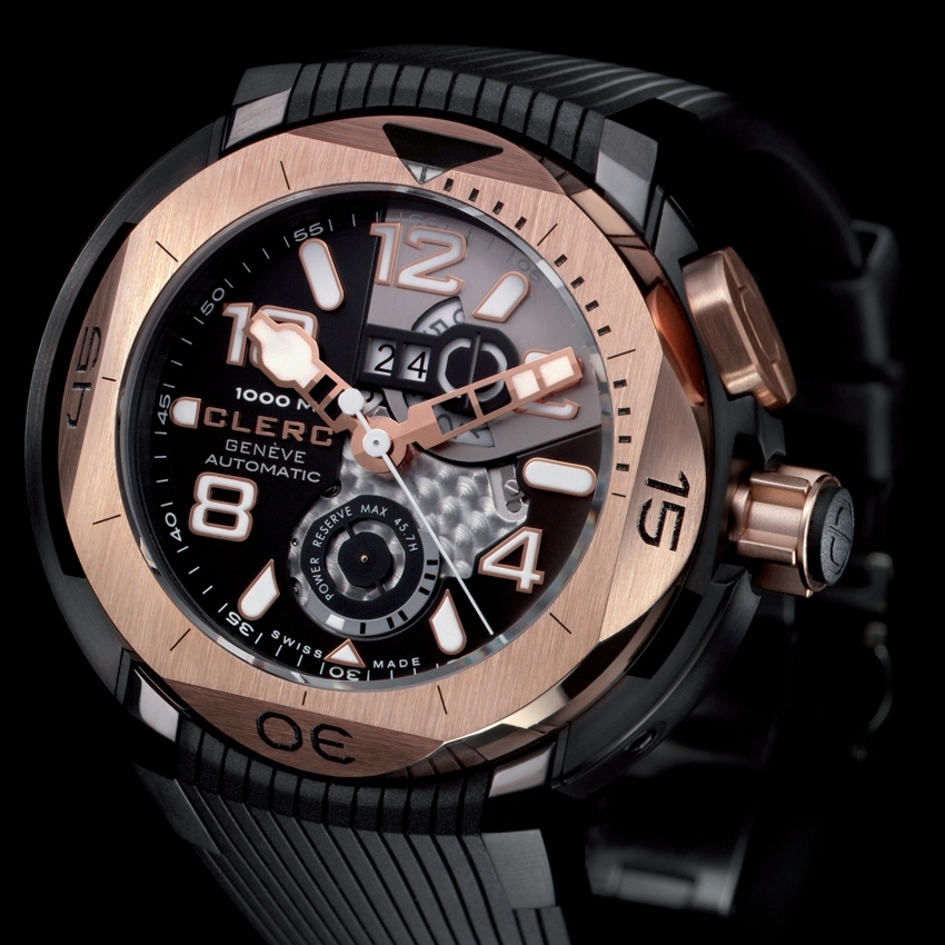 CLERC Hydroscaph Big Date Power Reserve