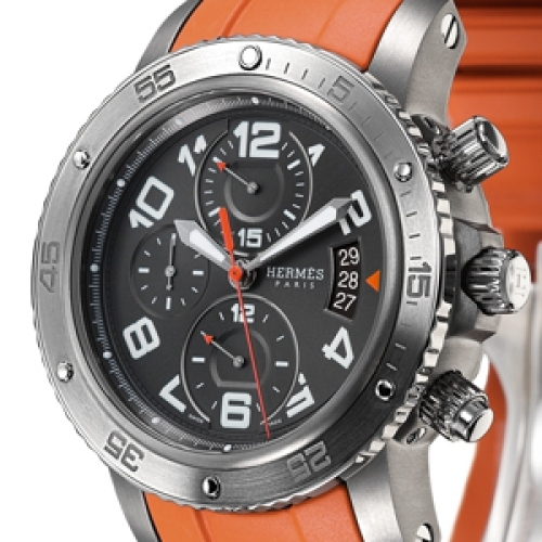 HERMES Clipper 44 mm Mechanical Chronograph