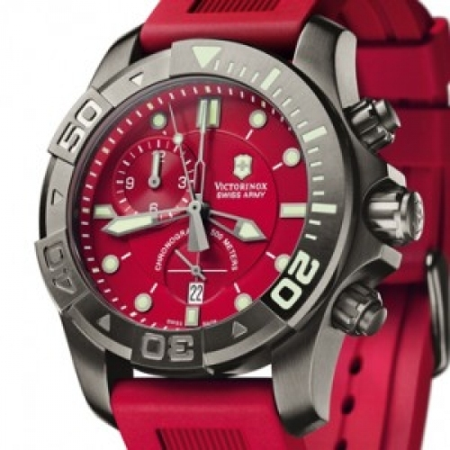 VICTORINOX SWISS ARMY Dive Master 500 Black Ice Chrono