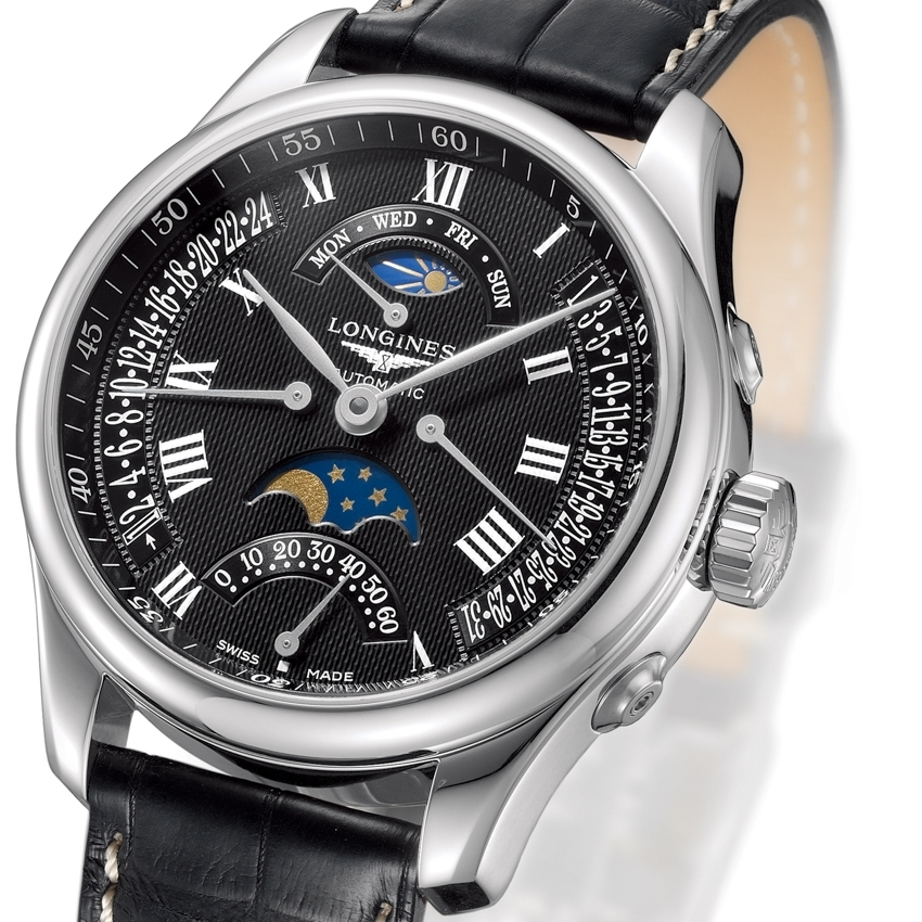 LONGINES The Master Collection Retrograde Moon Phases