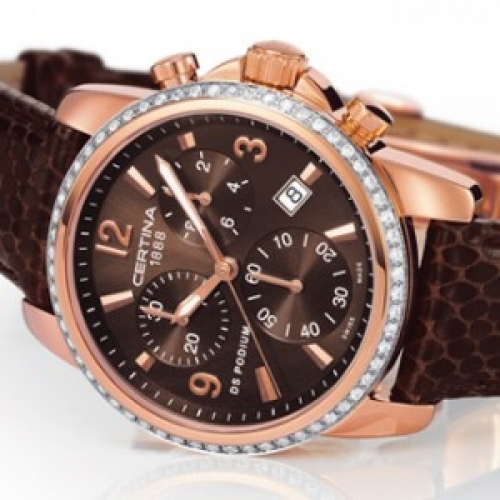 CERTINA DS Podium Chrono - Diamonds