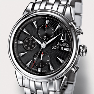 BULOVA ACCU SWISS Gemini Valjoux Collection