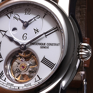 FREDERIQUE CONSTANT Heart Beat Manufacture GMT Automatic