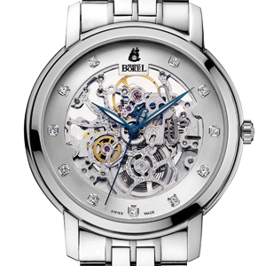 ERNEST BOREL 155th Anniversary Skeleton Limited Collection GGR9155-3299BR