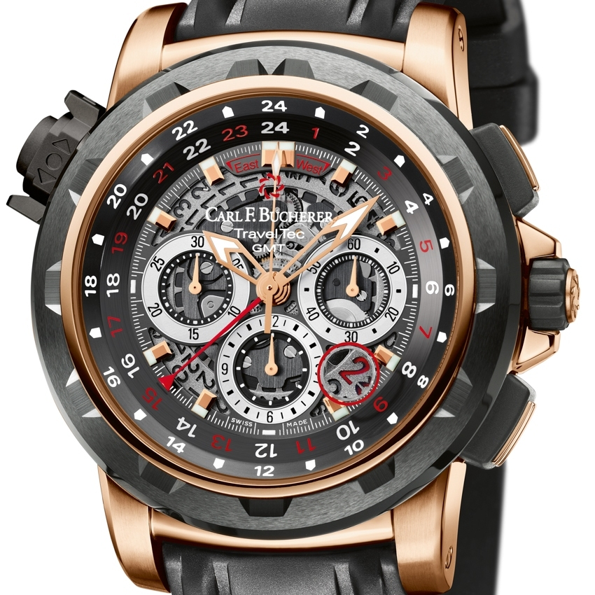 CARL F. BUCHERER Patravi TravelTec FourX