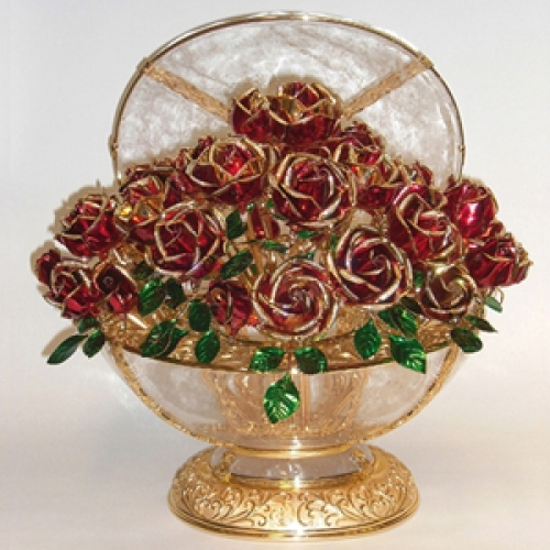 NEW ART Bowl of Roses