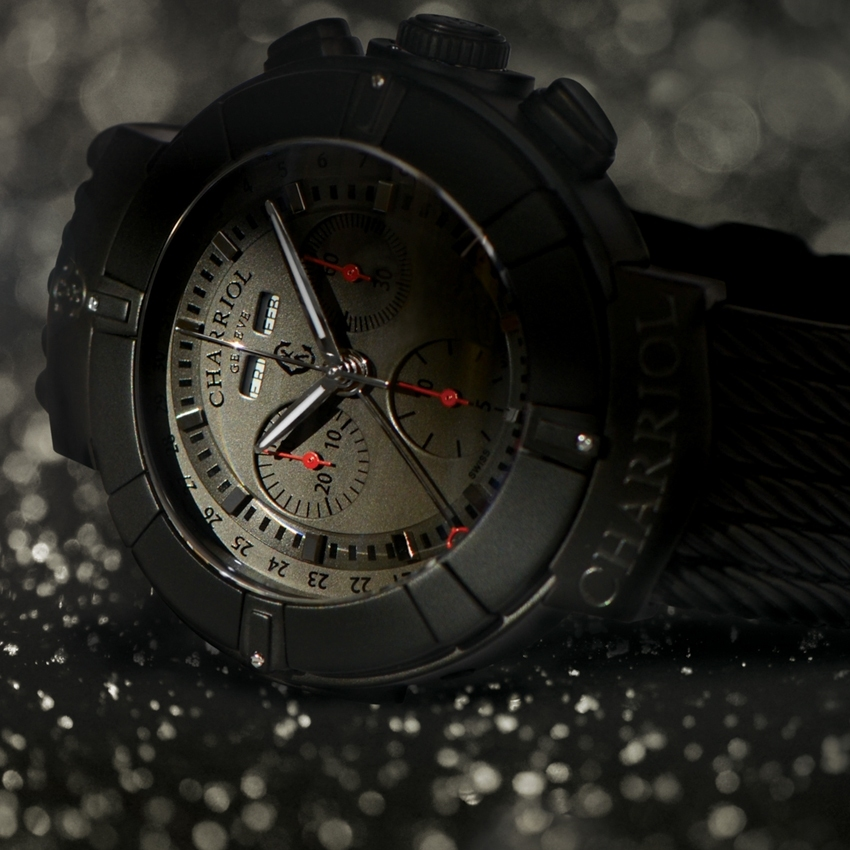 CHARRIOL Celtica Chrono Stealth