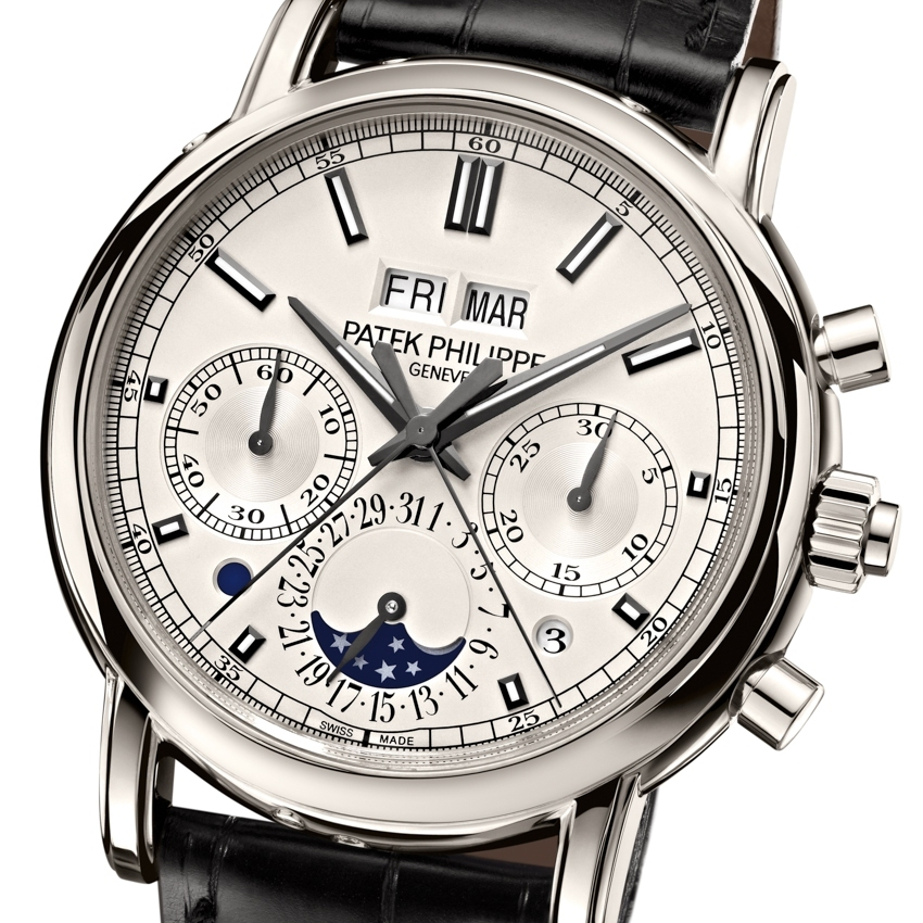 PATEK PHILIPPE Split-seconds chronograph and perpetual calendar Ref 5204