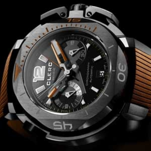 CLERC Hydroscaph L.E Central Chronograph