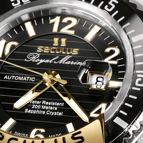 SECULUS Royal Marine Limited Edition - Registered Model