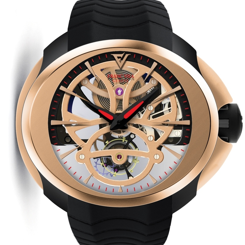FRANC VILA FVi N°8 Tourbillon Intrepido SuperLigero Skeleton