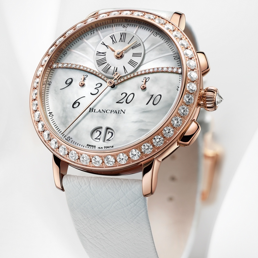 BLANCPAIN Women Collection, Chronographe Grande Date