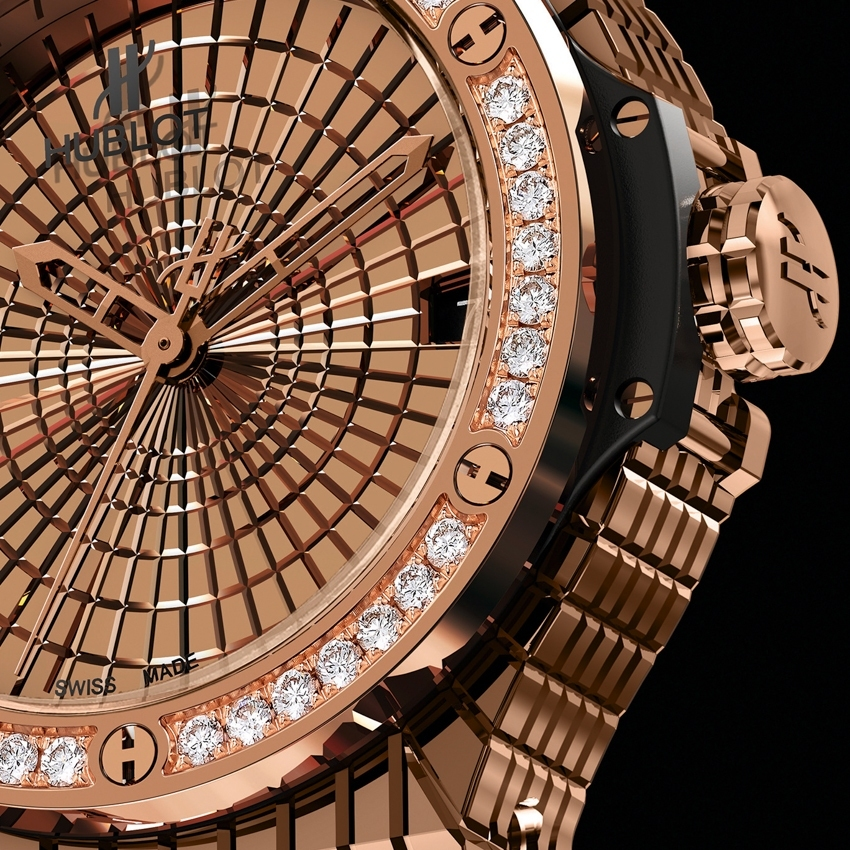 HUBLOT Big Bang Caviar Red Gold Diamonds