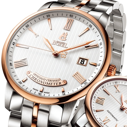 ERNEST BOREL The Jules Borel Officially Certified Chronometer
