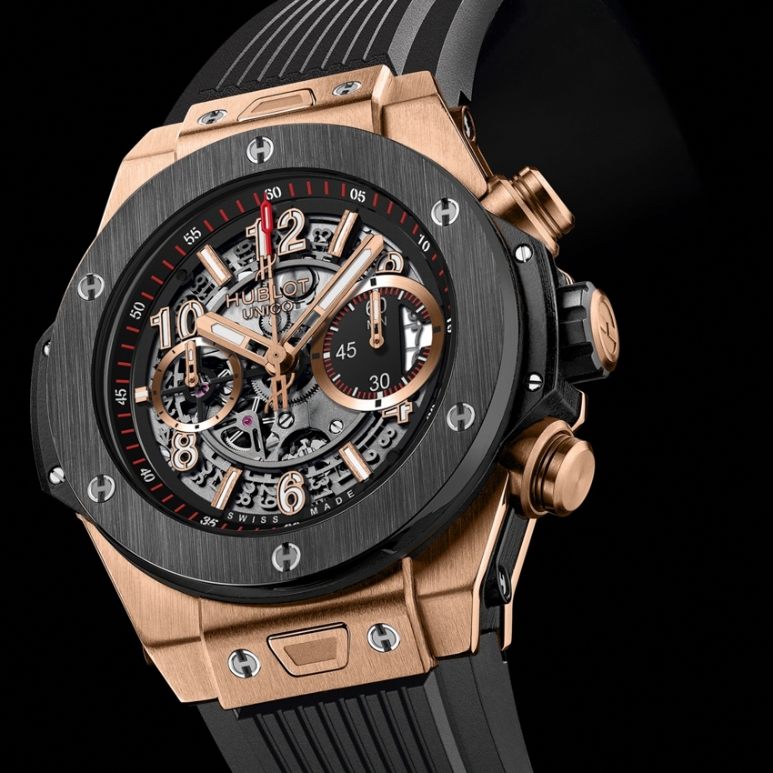 HUBLOT Big Bang Unico King Gold Ceramique