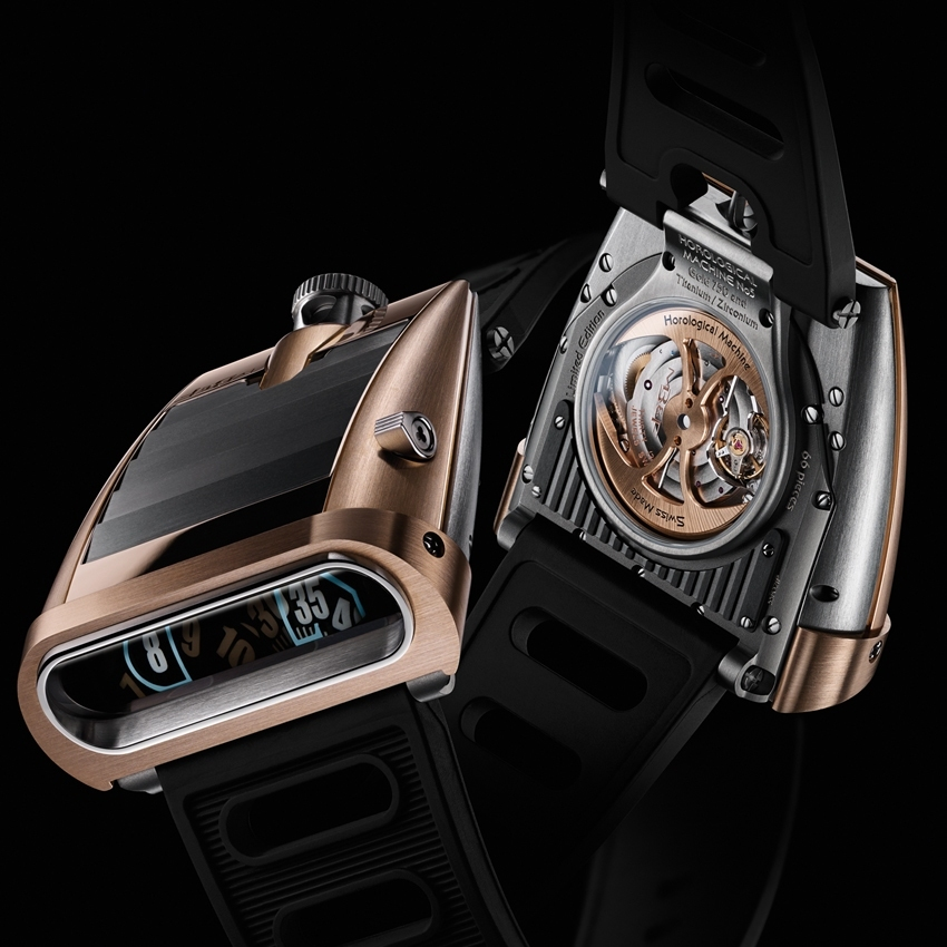 "MB & F Horological Machine N° 5 RT ""On the Road Again"""