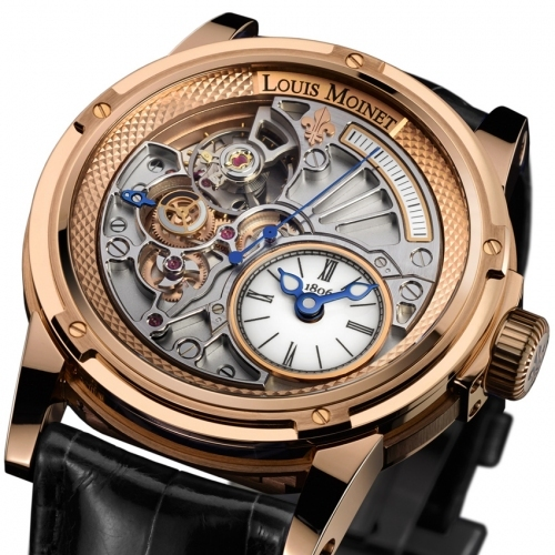 Swisstime louis moinet 20 second tempograph for Louis moinet watch