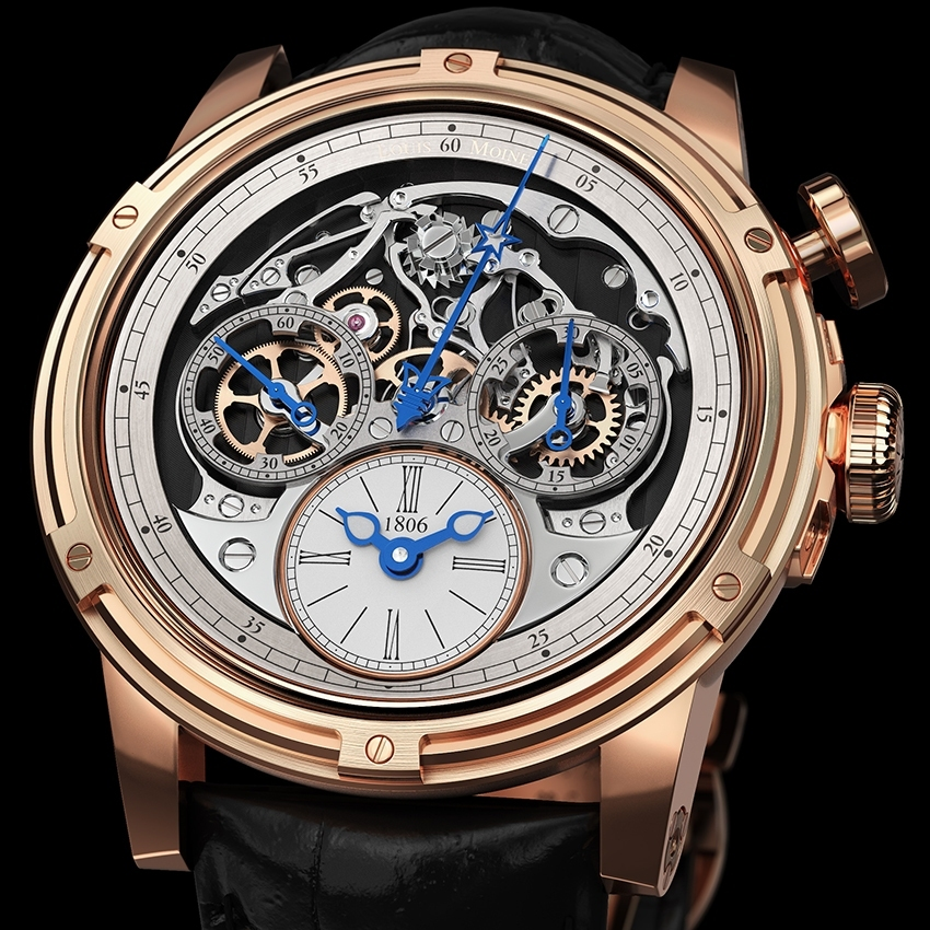 Swisstime louis moinet memoris for Louis moinet watch