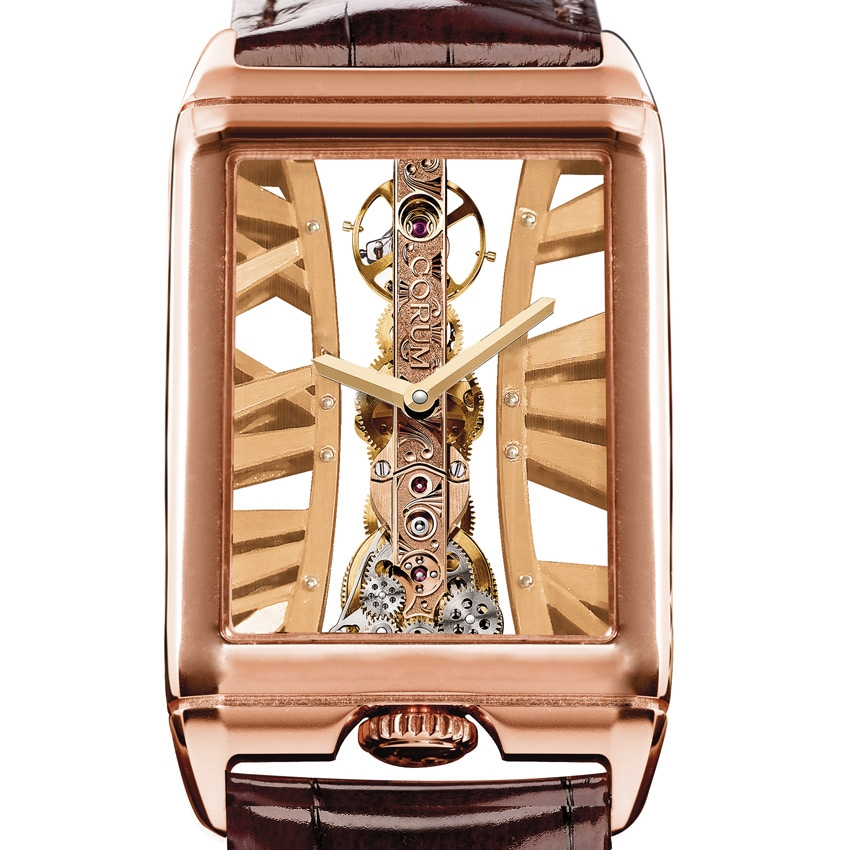 CORUM Golden Bridge Rectangle