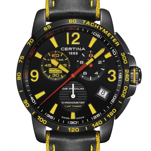 CERTINA Chronographe DS Podium Lap Timer – Racing Edition