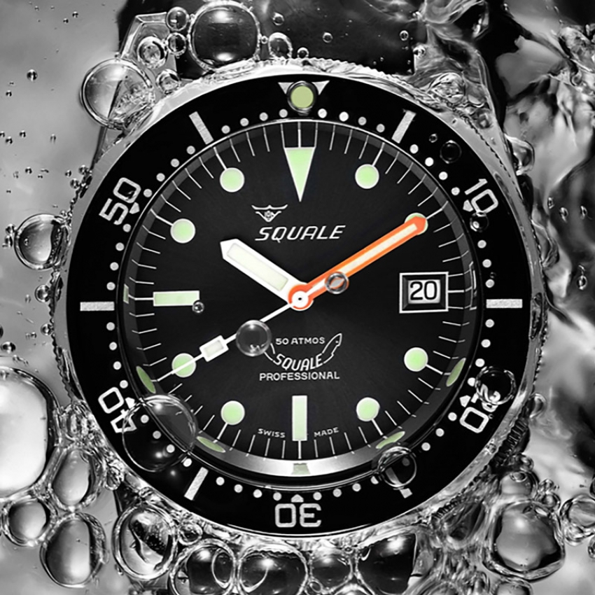 SQUALE WATCHES 1521 50 ATM Professional